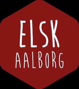 Elsk Aalborg Logo på website